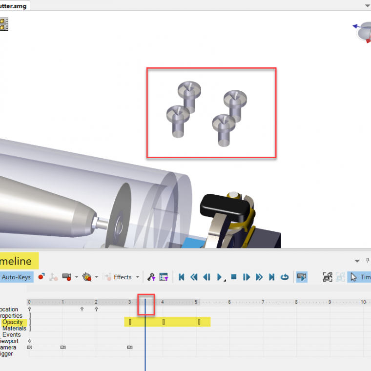 SOLIDWORKS Composer animations