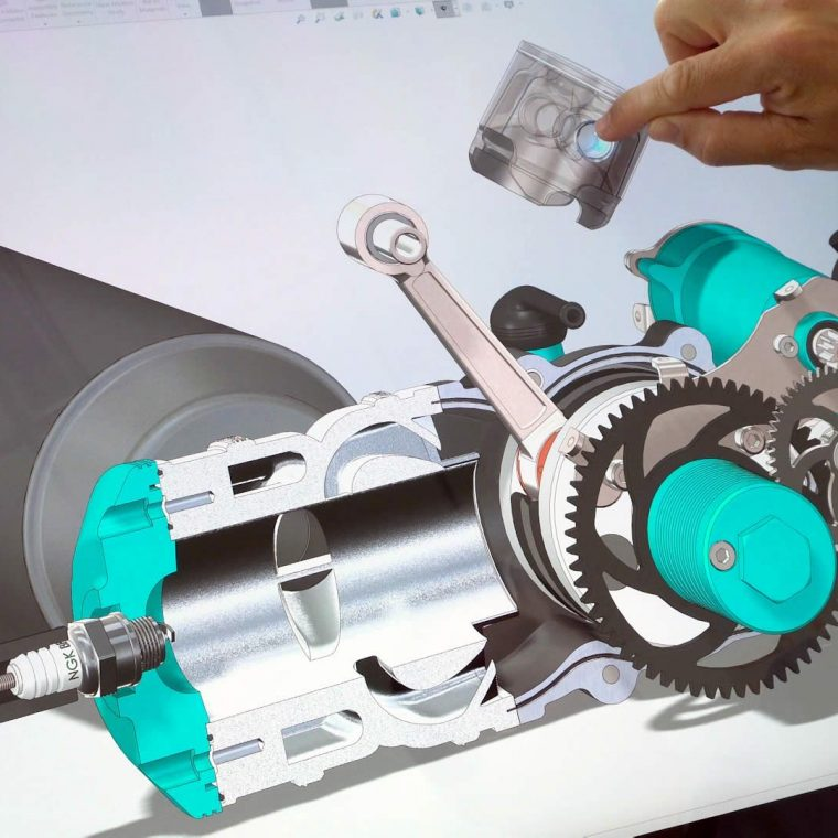 SOLIDWORKS Touch Mode