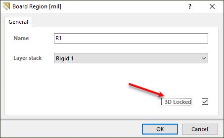 3D Locked option