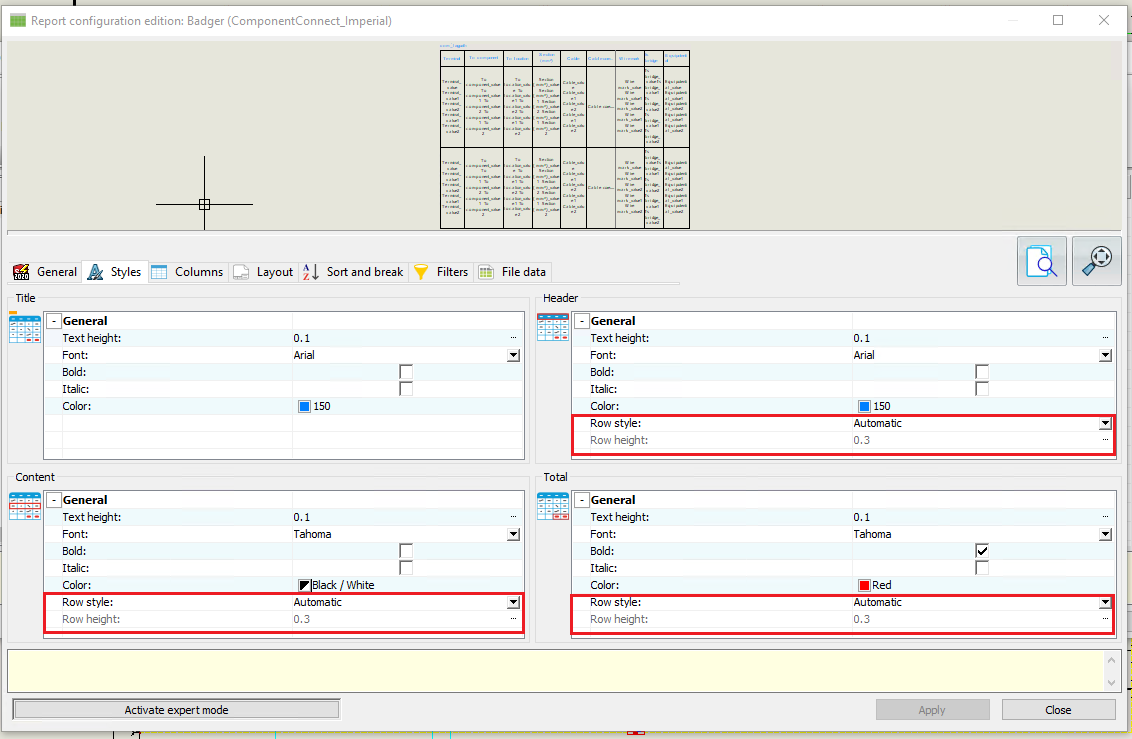 SOLIDWORKS Electrical 2020 Reporting Enhancements