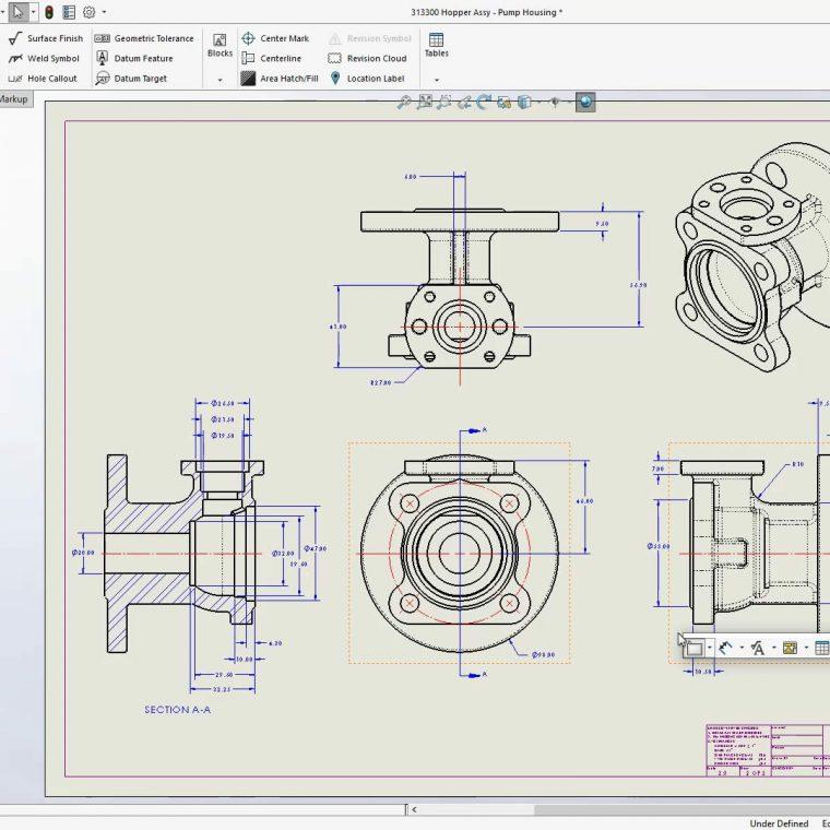 Create SOLIDWORKS drawings macro