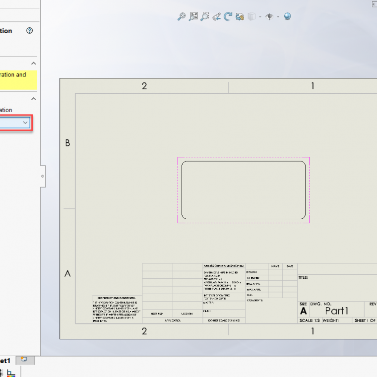 SOLIDWORKS 2020 Alternate Position View