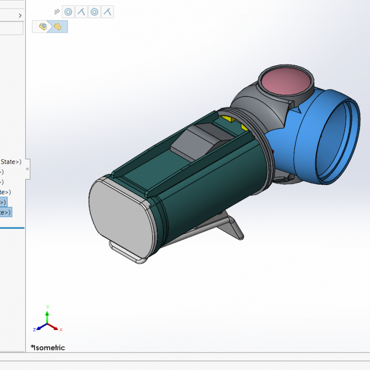 SOLIDWORKS selection set