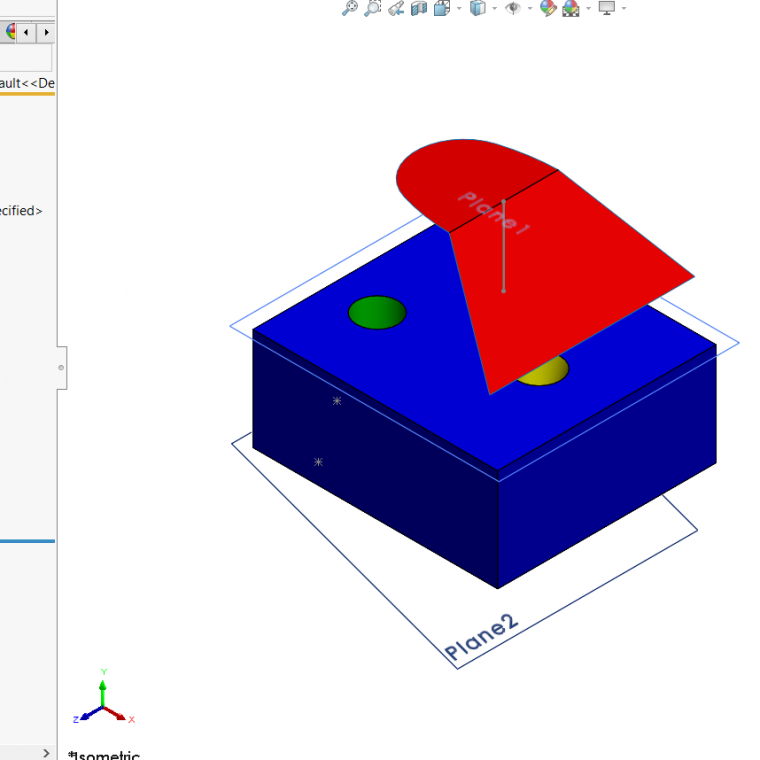 SOLIDWORKS 2020 Thicken Surface