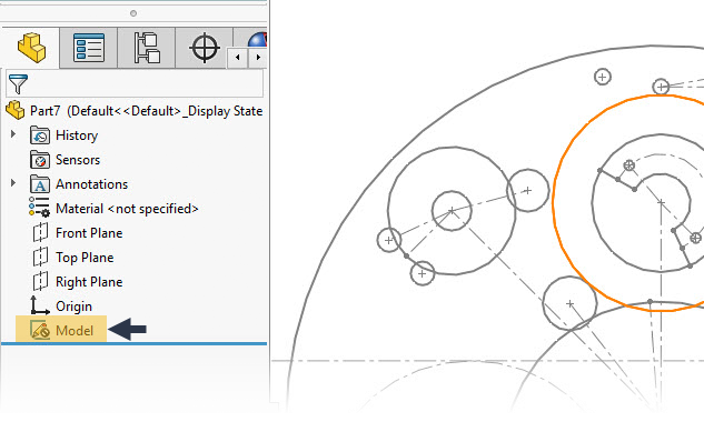 Create Solidworks Reference Sketches From 2d Dxf Dwg Files