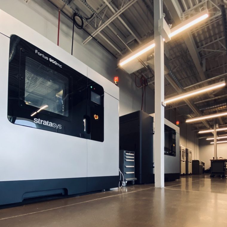 F900 in Additive Manufacturing Center
