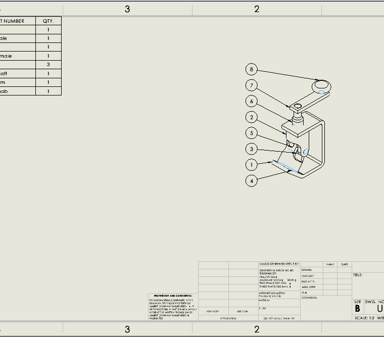 Assembly Drawing Display States