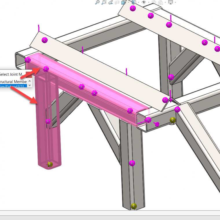 solidworks simulation joint group