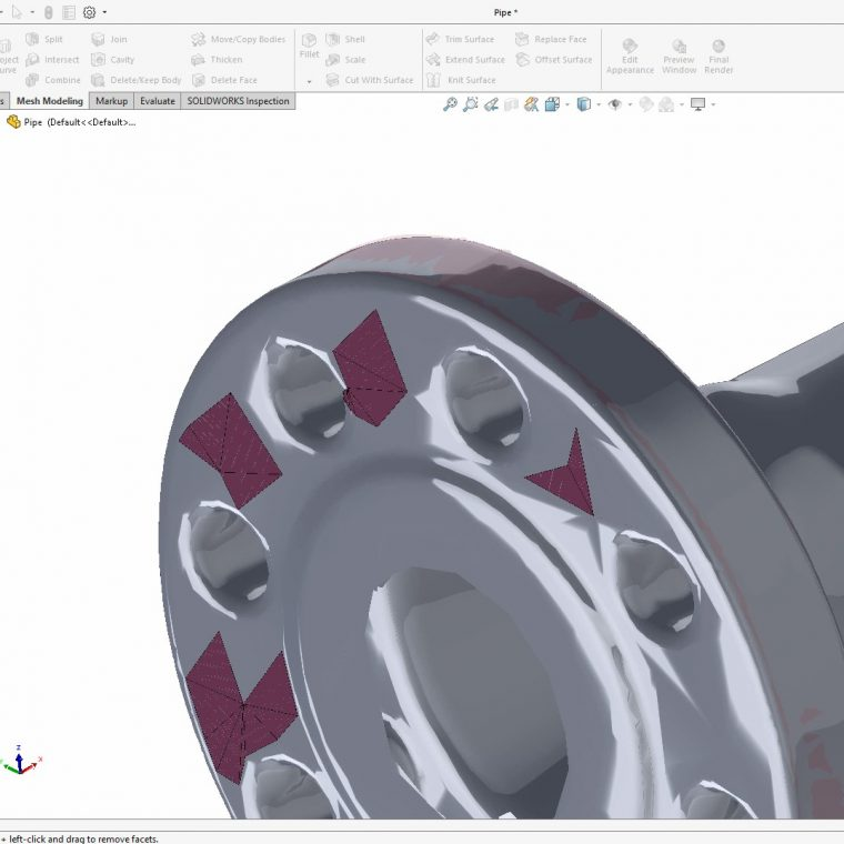 Working with SOLIDWORKS Mesh Files
