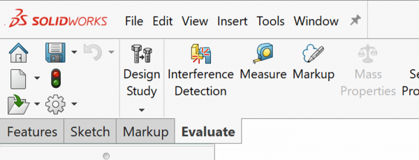 CommandManager in SOLIDWORKS 2020 SP03