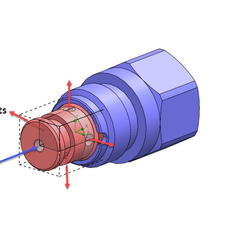 solidworks flow simulation symmetry