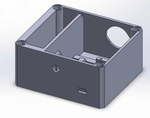 3D printed electronics enclosure