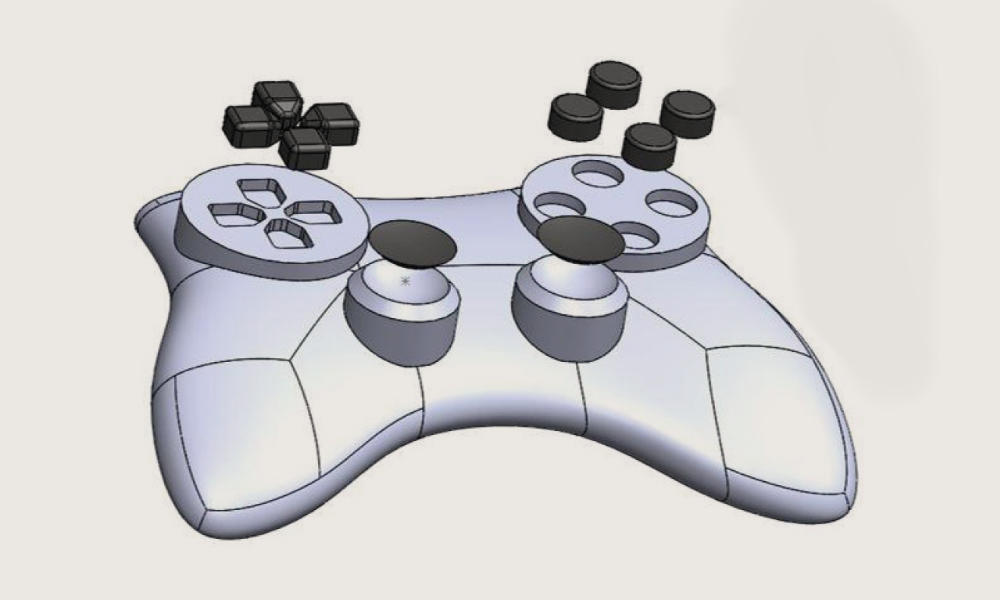 Controller 3D Design