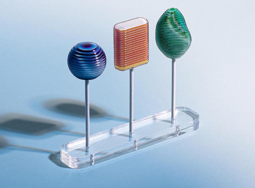 Interactive 3D printed lollipop