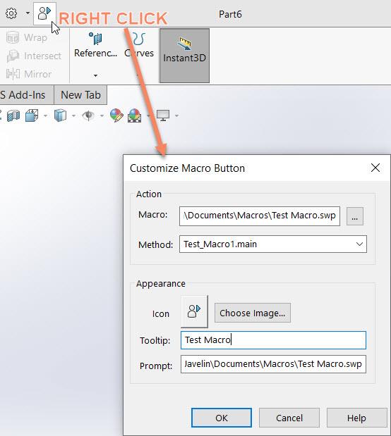 Edit Existing Macros