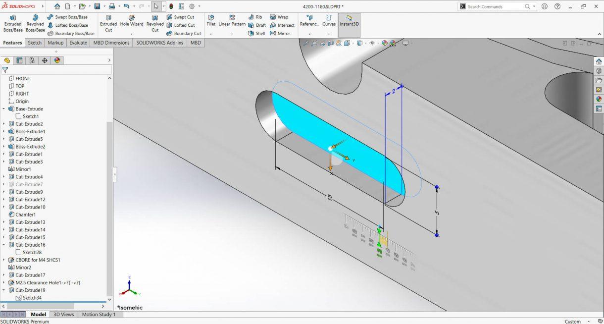 Instant3D drag