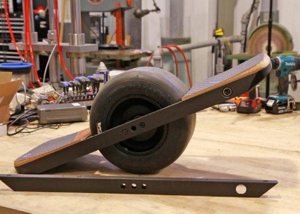 One Wheel carbon fiber components