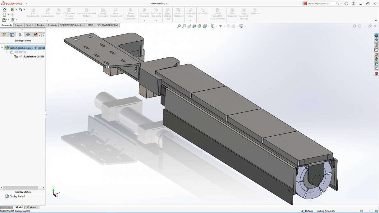 SOLIDWORKS 2021 Assembly Simplification
