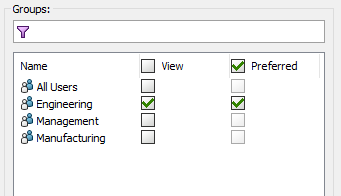 Configuring Column Sets - Permissions Tab