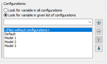 Configuring Column Sets - Variable in list
