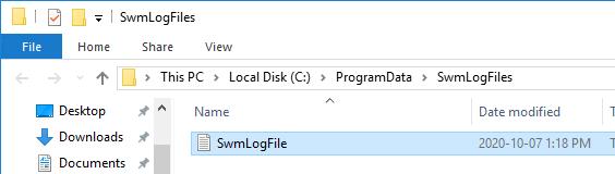 Database Debug Log - Log File