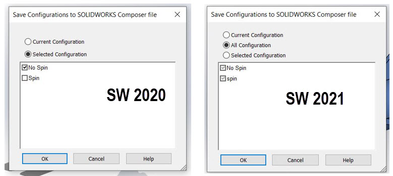 Export fromSOLIDWORKS to Composer