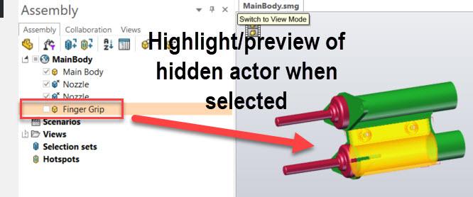 Hidden Actors Composer