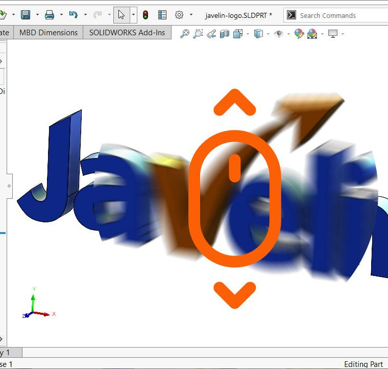 SOLIDWORKS Accelerated Zoom