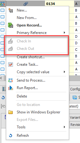 SOLIDWORKS Manage Record is Read-Only