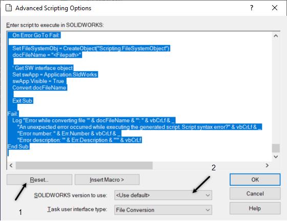 Rest SOLIDWORKS PDM Task Script