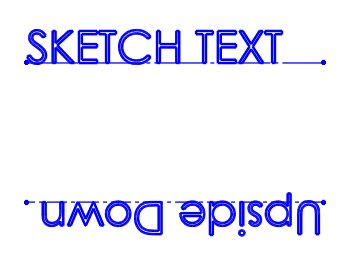 SOLIDWORKS Sketch Text Upside Down