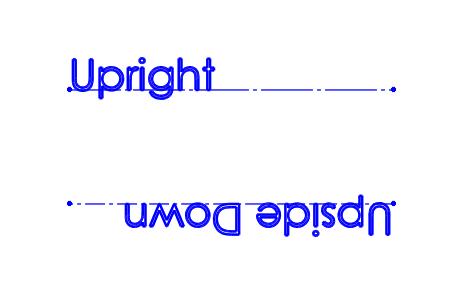 SOLIDWORKS Sketch Text Orientation