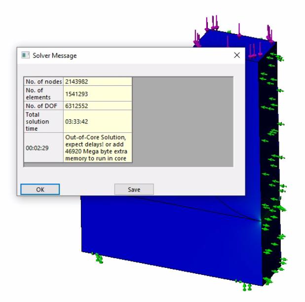 SOLIDWORKS Simulation 2021 Intel Direct Sparse Solver