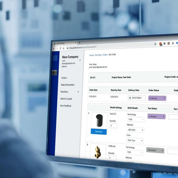 GrabCAD Shop Cost Calculator