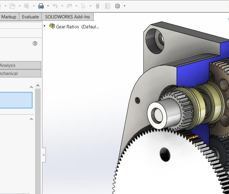 SOLIDWORKS Mate PropertyManager