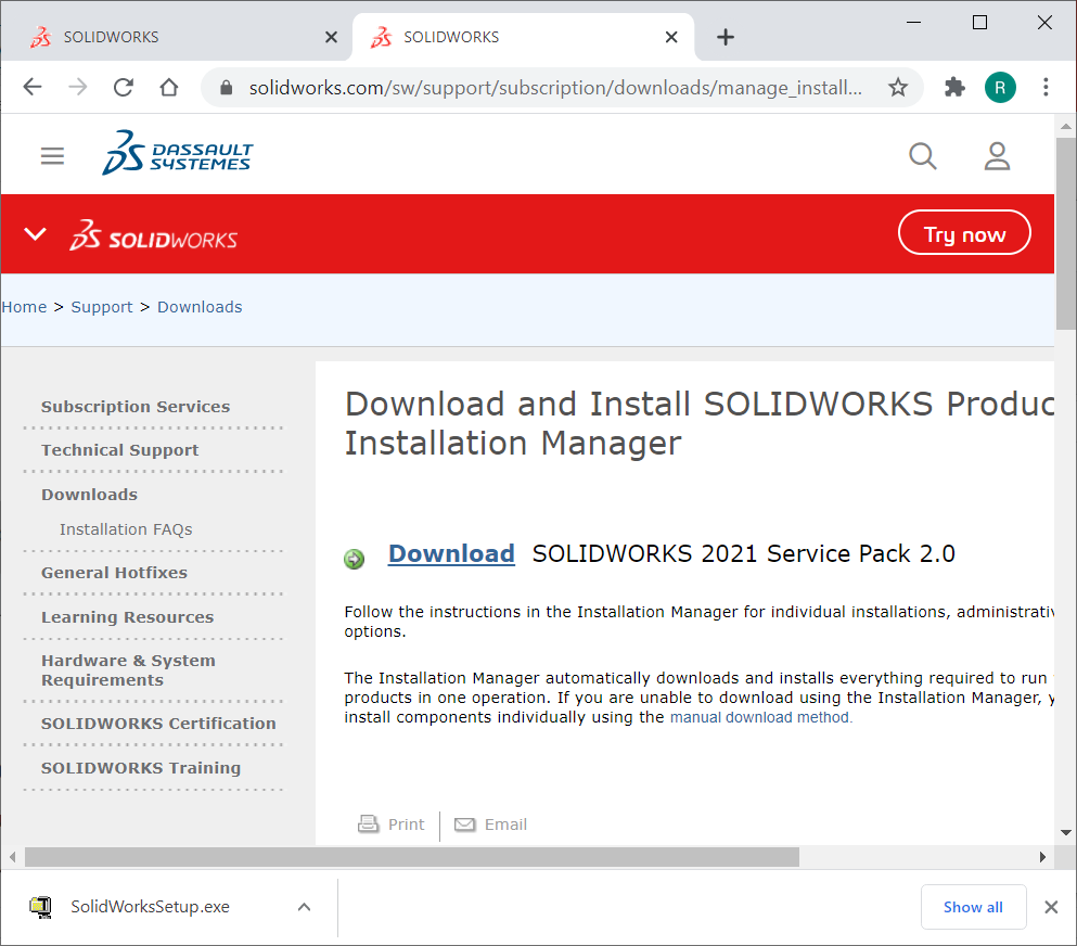 SOLIDWORKS Software Download