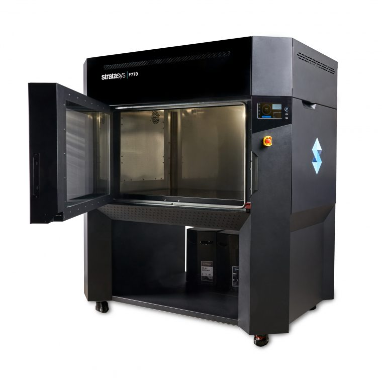 F770 Printer Front Open