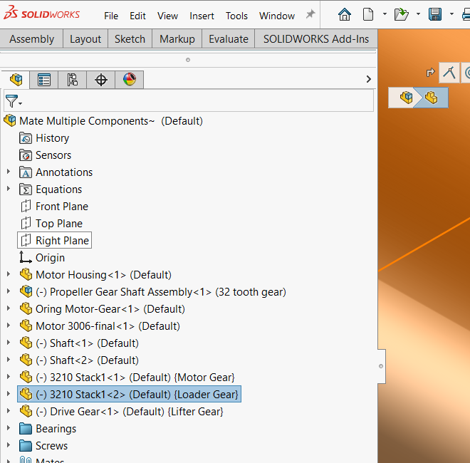 SOLIDWORKS Component References Added