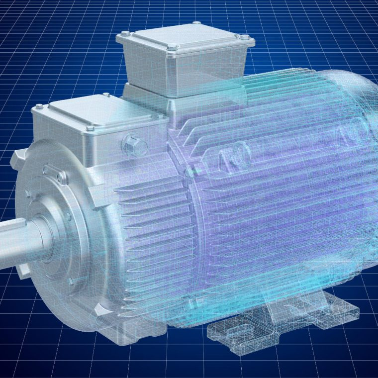 Electric Motor Winch Design