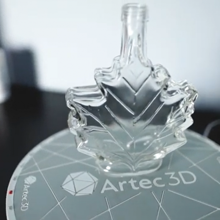 AESUB Scanning Spray demonstration with Artec 3D scanners