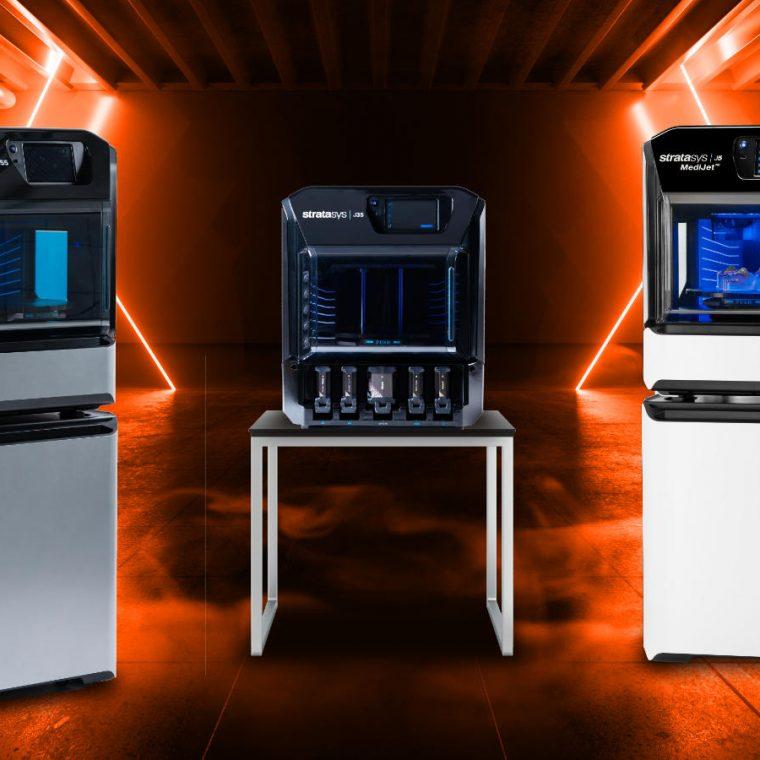New PolyJet 3D Printers