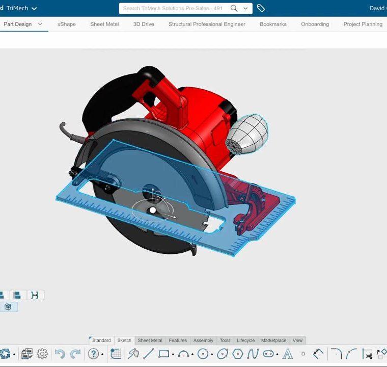 3DEXPERIENCE 3D SheetMetal Creator