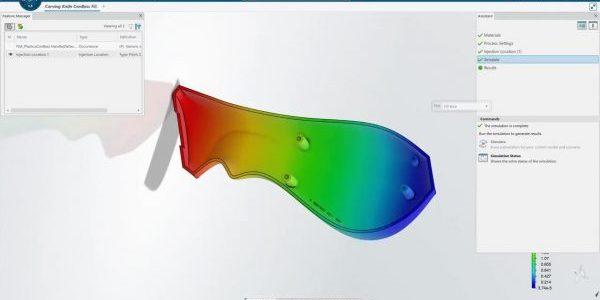 3DEXPERIENCE Plastic Injection Analysis