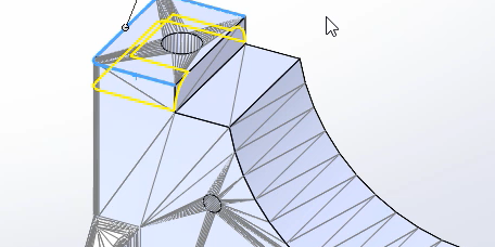 SOLIDWORKS Mesh Editing