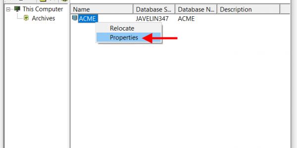 SOLIDWORKS PDM Backup Process