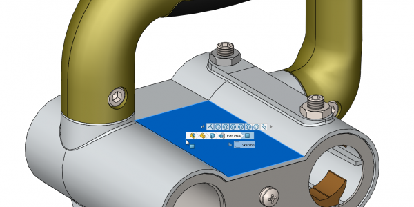 SOLIDWORKS Breadcrumbs beside Mouse Cursor