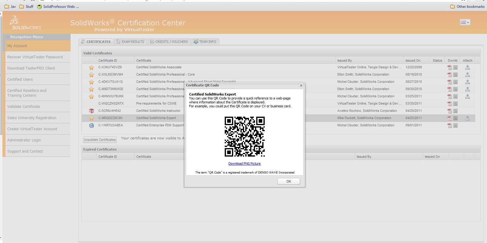 Certification Centre