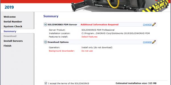 Change server information