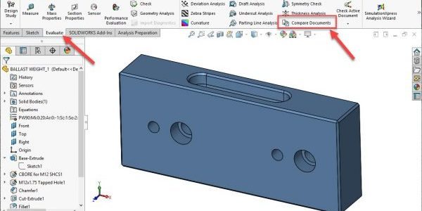 SOLIDWORKS Compare Tool