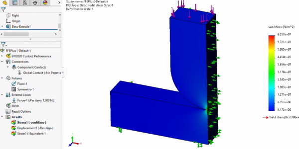 SOLIDWORKS Simulation Solver